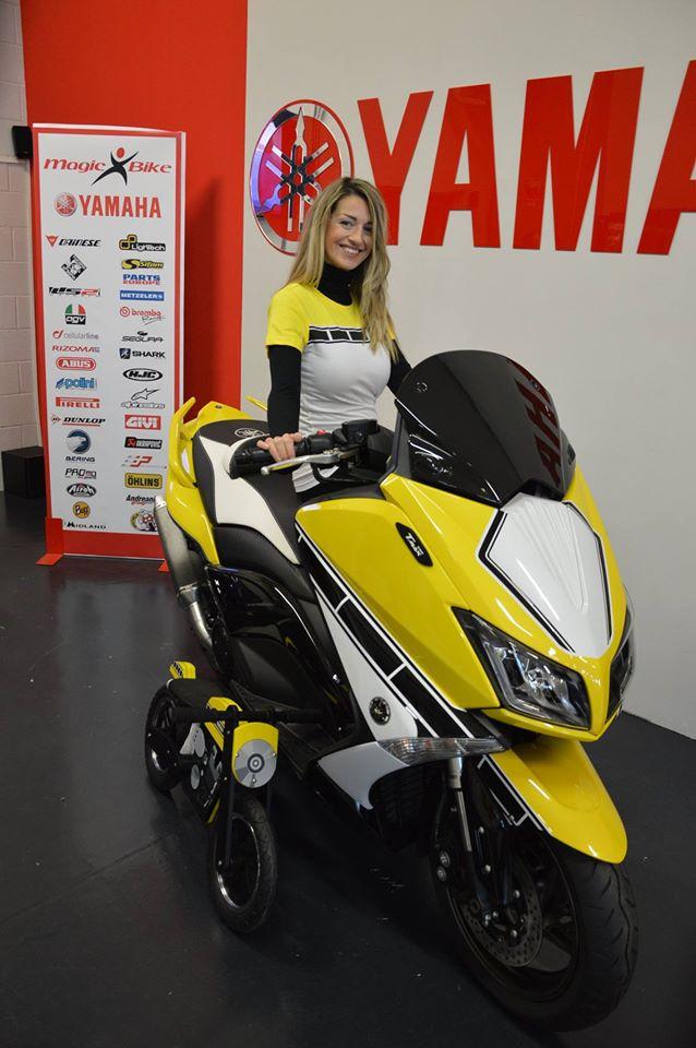 Yamaha T Max Riverniciatura Carrozzeria Rivoli